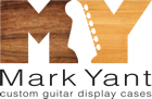 Mark Yant Custom Guitar Display Cases